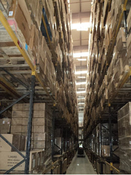 Seasonal Warehouse Storage - K2 Business Storage Solutions